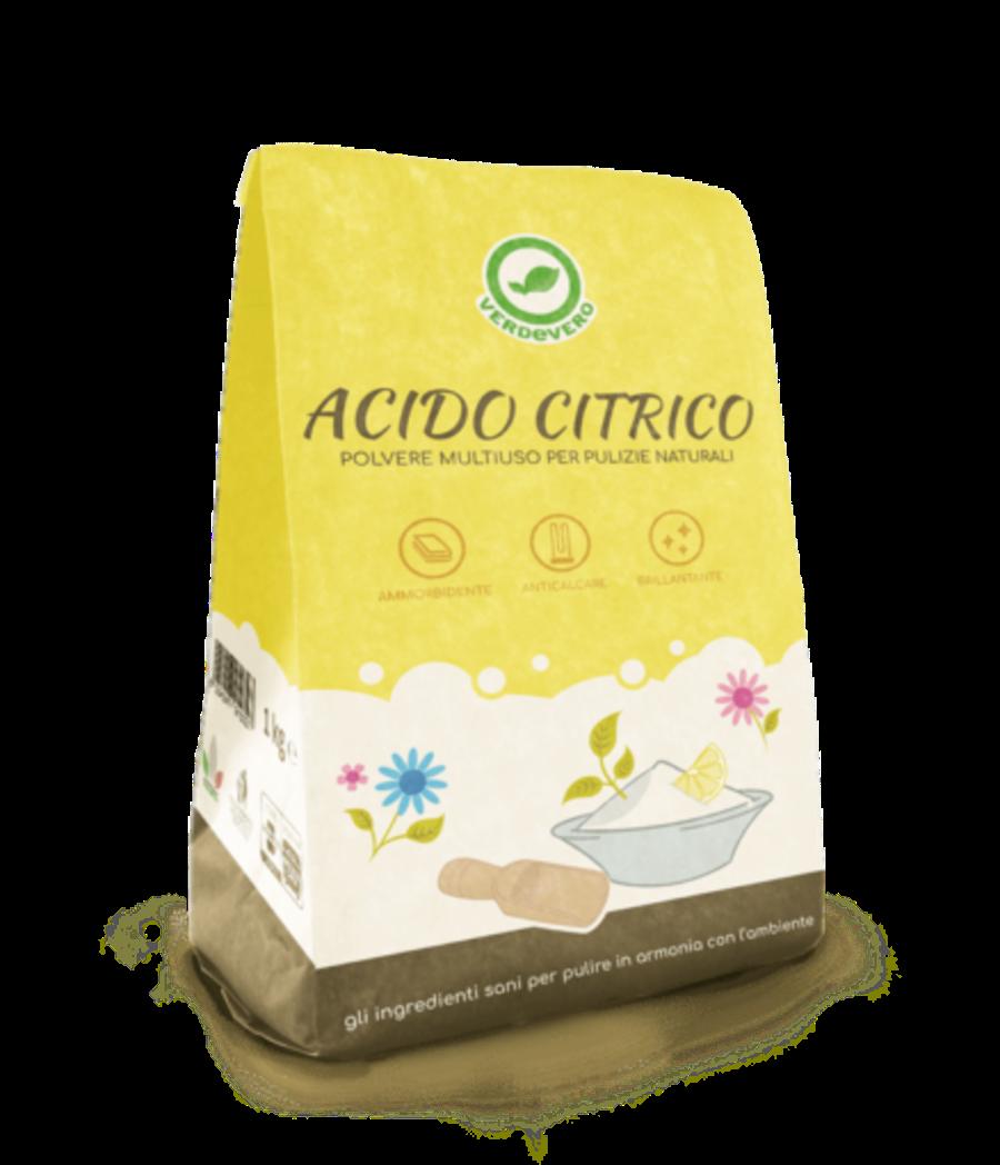 VERDEVERO Acido Citrico 1Kg